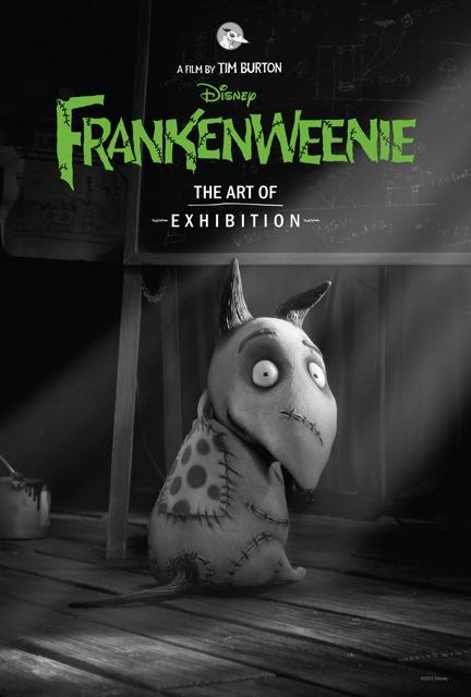 Disney Announce Art Of Frankenweenie Exhibition With New Poster Video Heyuguys