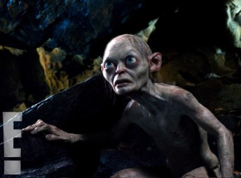 Andy Serkis as Gollum in The Hobbit 2