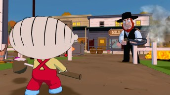 Family Guy Back to the Multiverse Screenshot