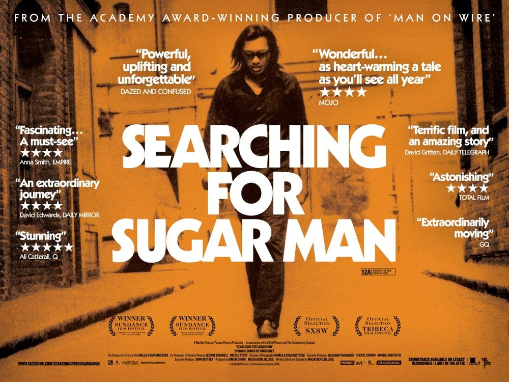 Image result for searching for sugarman poster
