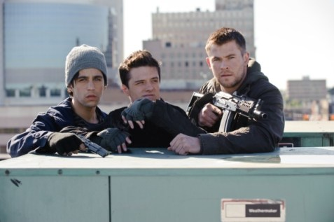 Chris Hemsworth and Josh Hutcherson in Red Dawn