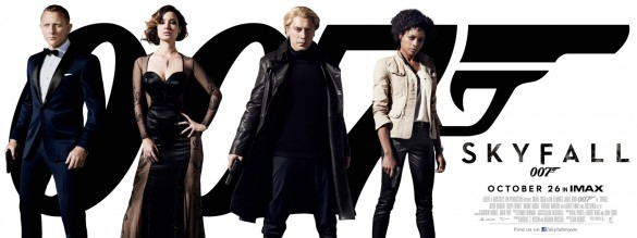 Skyfall Character Posters James Bond Poster