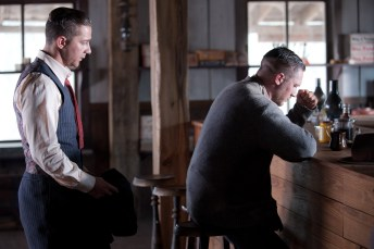 Tom Hardy and Shia LaBeouf in Lawless