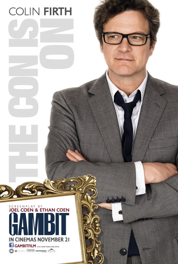 Gambit-Colin-Firth-Poster