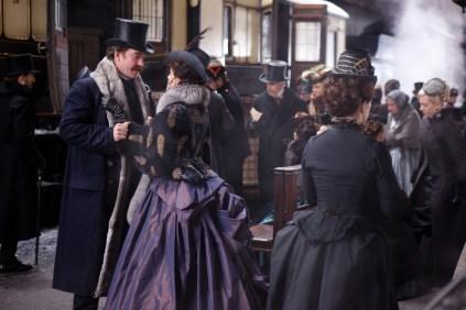 Matthew Macfadyen and Keira Knightley in Anna Karenina