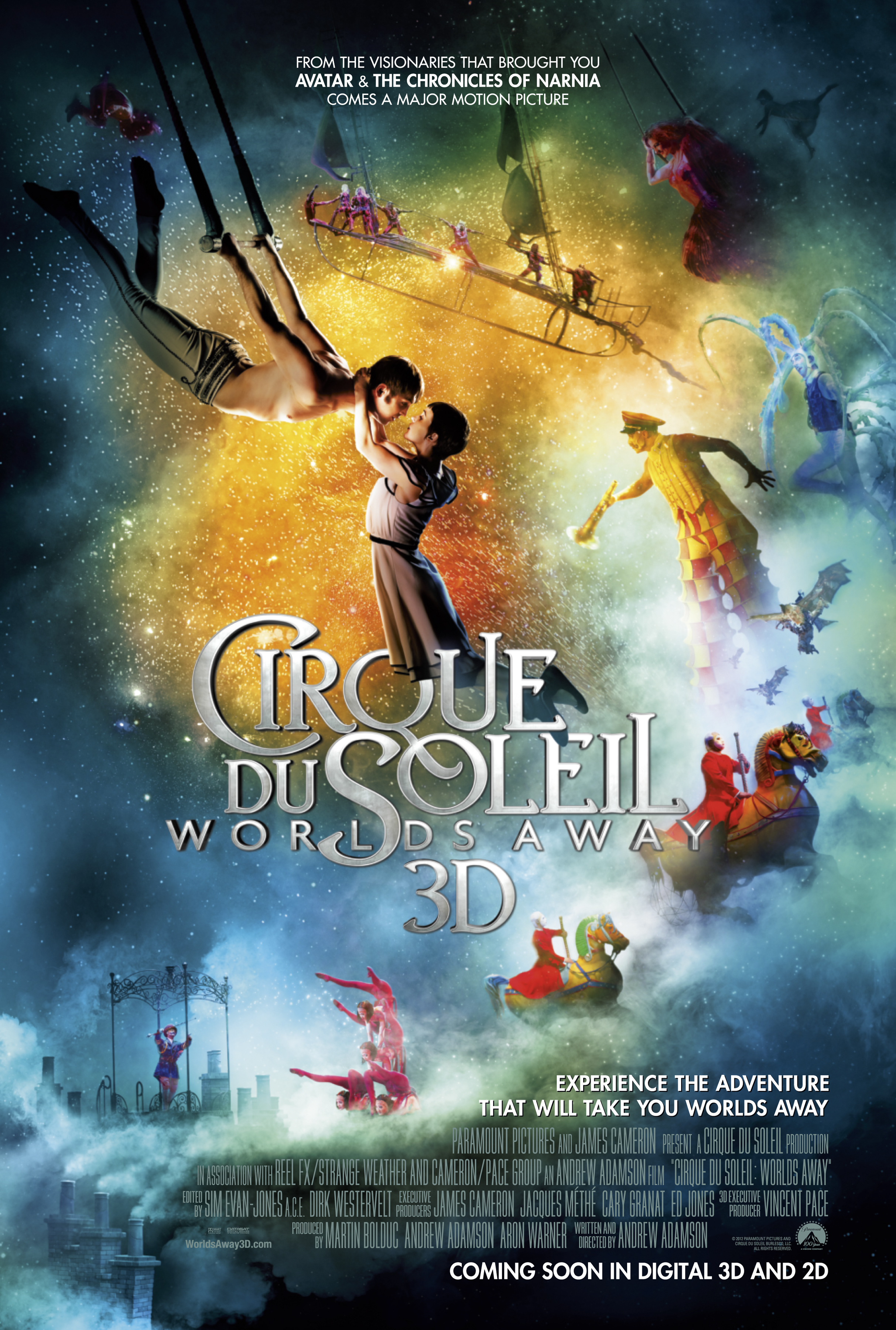 Cirque Du Soleil Worlds Away Can T Wait To See This