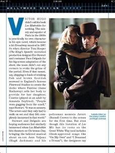 Isabelle Allen and Hugh Jackman in Les Misérables scan