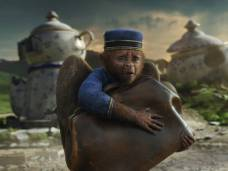 Finley, voiced by Zach Braff, in Oz: The Great and Powerful