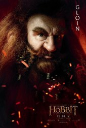 The Hobbit: An Unexpected Journey Character Poster – Gloin