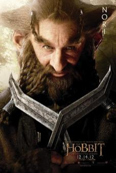 The Hobbit: An Unexpected Journey Character Poster – Nori
