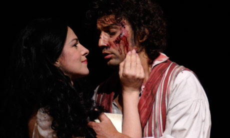 Tosca Opera at the Cinema