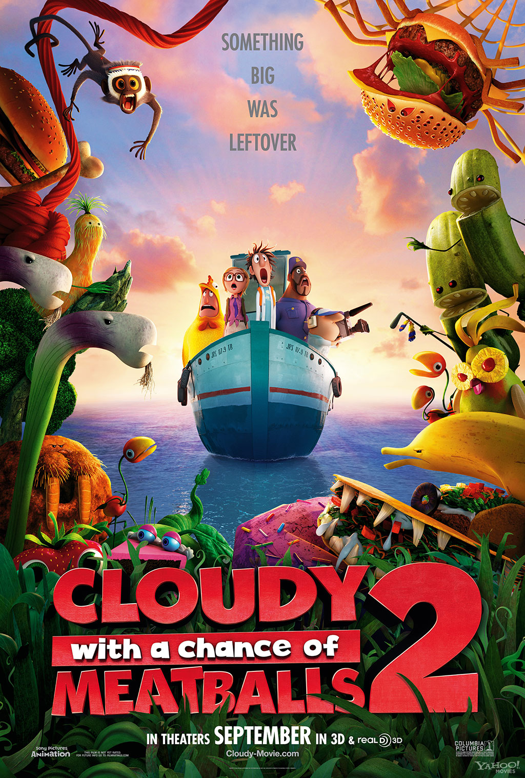 Meet The Foodimals In New Footage Images From Cloudy With A Chance Of Meatballs 2