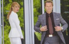 Gwyneth Paltrow and Guy Pearce in Iron Man 3