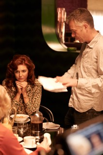 Tamsin-Egerton-and-Michael-Winterbottom-on-set-of-The-Look-of-Love
