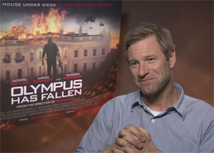 Image result for Aaron Eckhart in White House Down