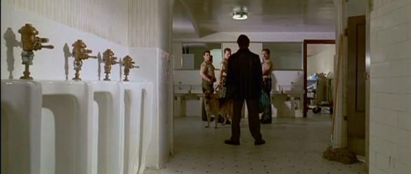 Reservoir dogs bathroom cops scene