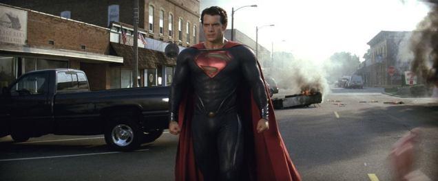 Henry Cavill in Man of Steel