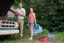 Kevin Costner and Diane Lane in Man of Steel