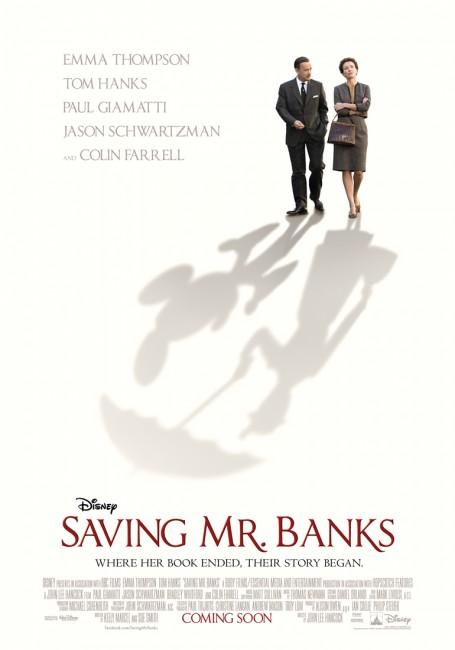 Saving Mr Banks Teaser Poster