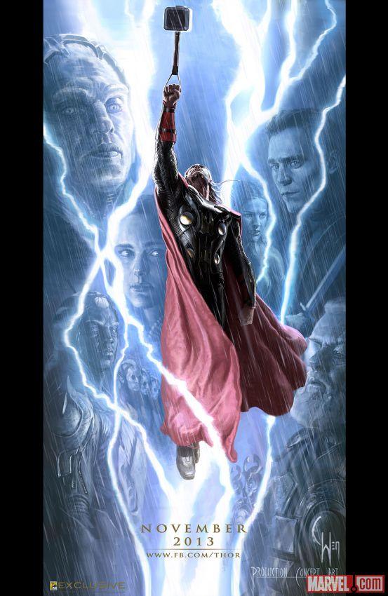 Thor:-The-Dark-World-Comic-Con-Poster