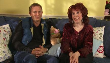 Daniel Craig and Catherine Tate