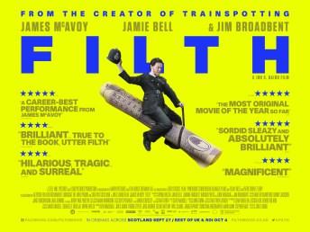 Filth-UK-Quad-Poster-Alternate