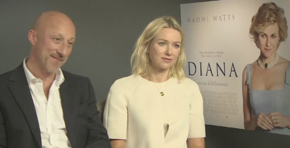 Oliver Hirschbiegel and Naomi Watts - Diana
