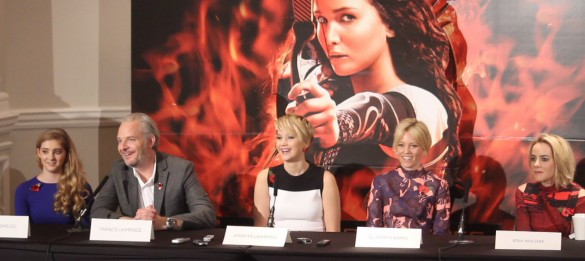 The Hunger Games Catching Fire Press Conference