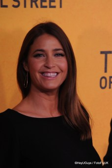 Lisa Snowdon at the Premiere of The Wolf of Wall Street