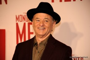 Bill Murray at the Premiere for The Monuments Men in London