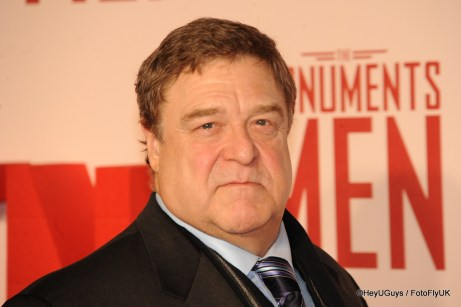 John Goodman at the Premiere for The Monuments Men in London
