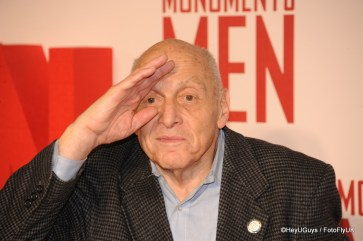Harry Ettlinger at The Monuments Men Premiere