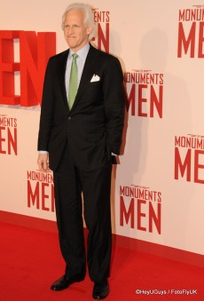 Robert M. Edsel at The Monuments Men Premiere