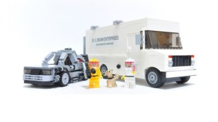 BTTF Plutoniam GMC Van - Back to the Future