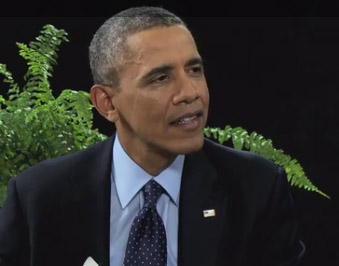 Barack Obama Appears on Between Two Ferns with Zach Galifianakis