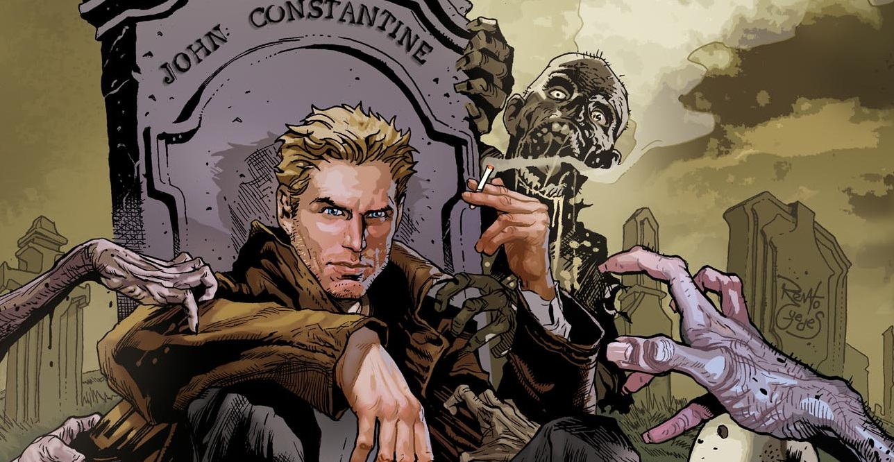 Resultado de imagem para Constantine hq