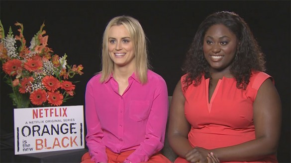 Orange is the New Black - Taylor Schilling and Danielle Brooks