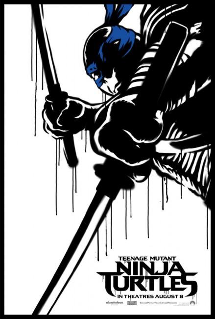 Teenage-Mutant-Ninja-Turtle-Street-Poster-Leonardo