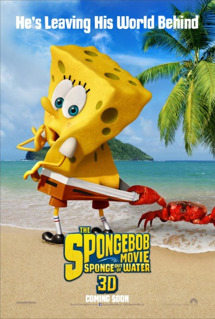 SpongeBob Movie Sponge Out of Water UK Poster
