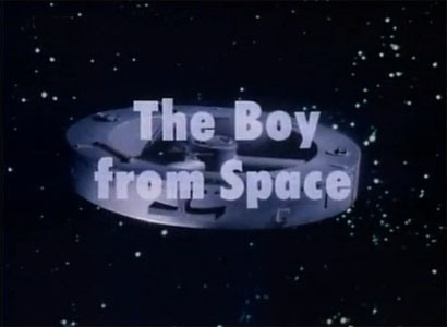 The Boy from Space Title