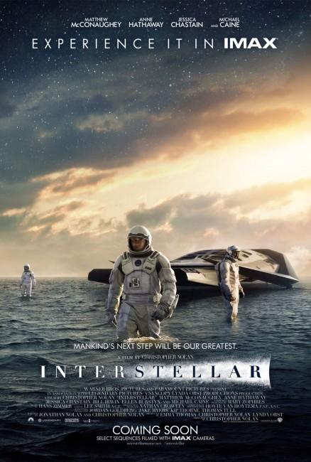 Interstellar Water Planet Poster