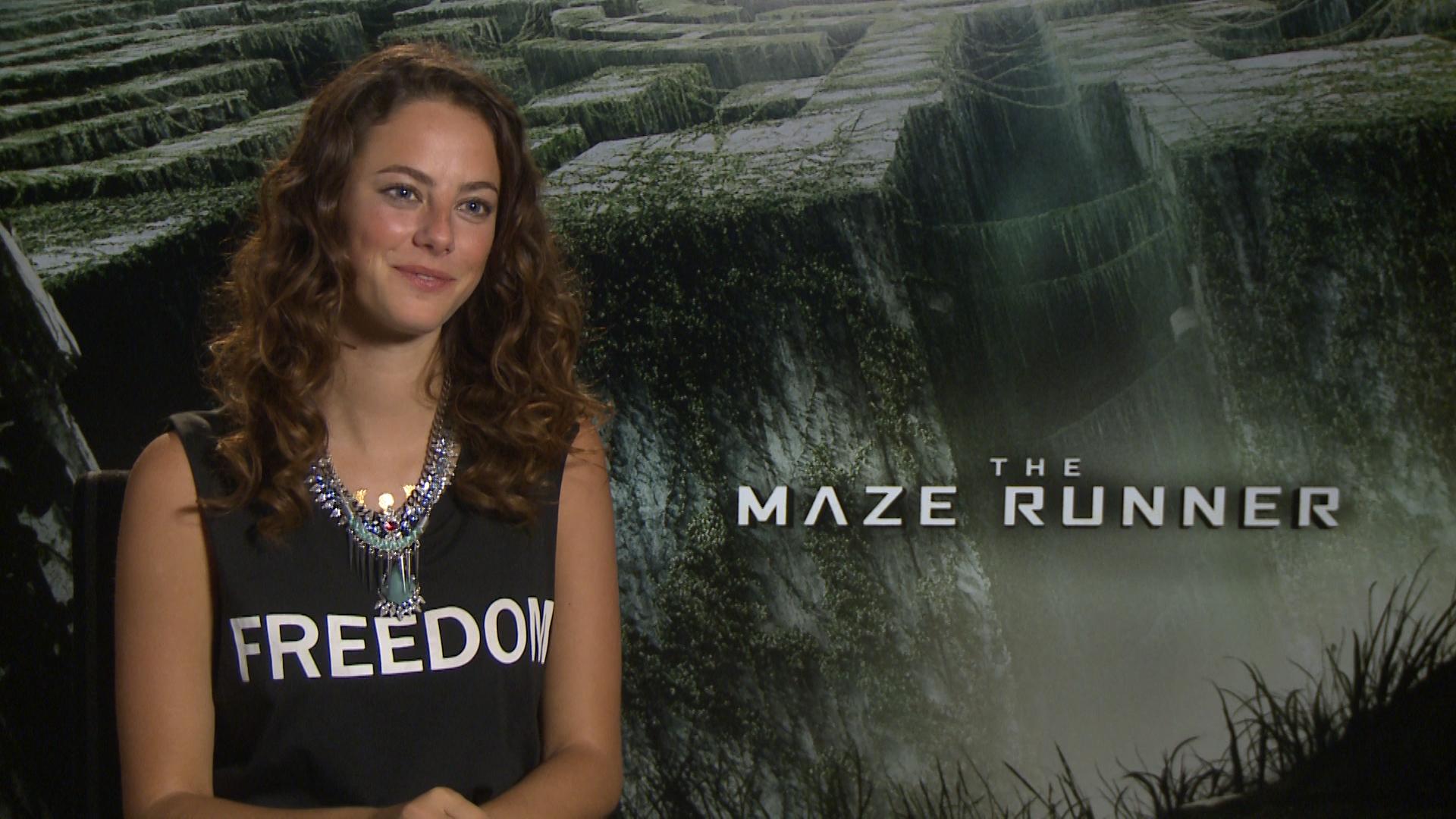 Kaya Scodelario - The Maze Runner