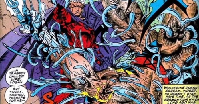 Magneto Wolverine