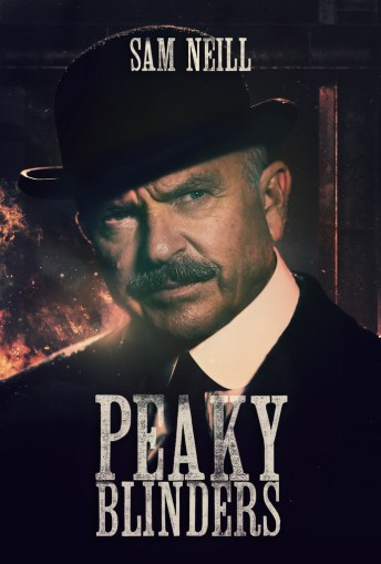 Peaky Blinders Poster - Sam Neill