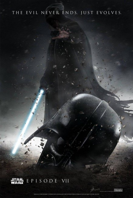 Star Wars The Force Awakens Fan-Made Poster