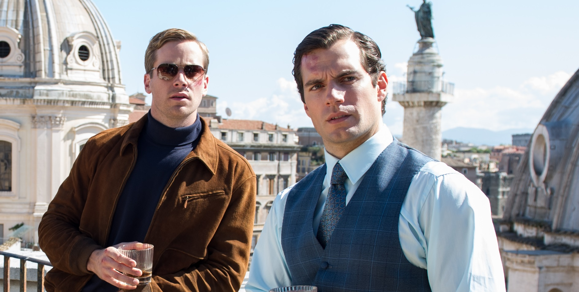 First Still From The Man From U N C L E Starring Henry Cavill