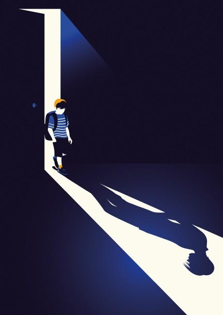 BAFTA '15 Film Digital Covers 1  Boyhood Art