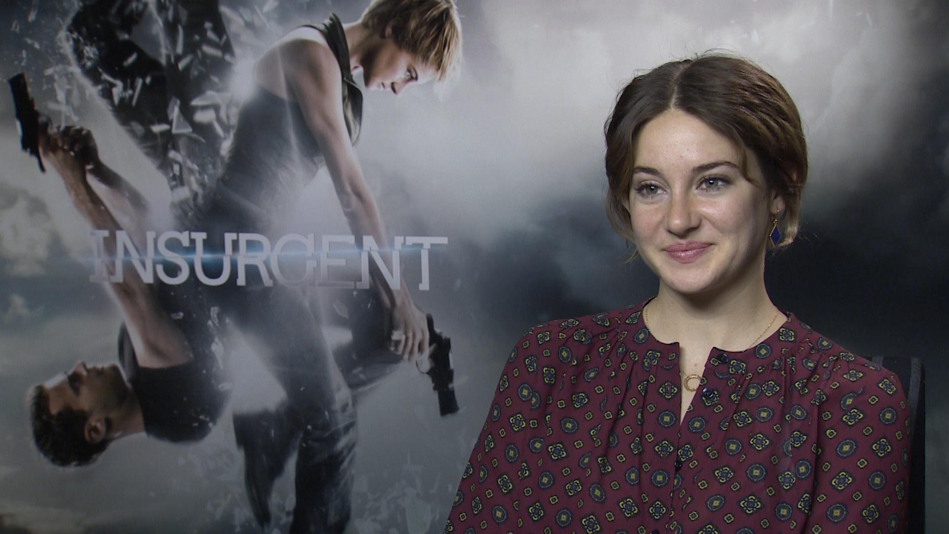 The Heyuguys Interview Shailene Woodley On Playing Tris In Insurgent Her Love Of Marvel Snowden Heyuguys