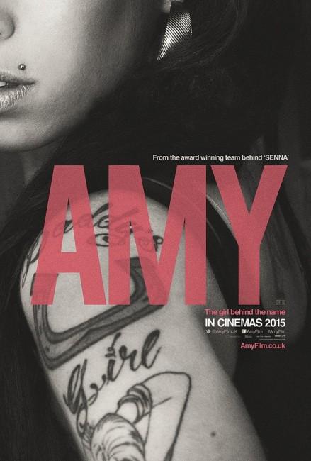Amy Documentary Movie Poster