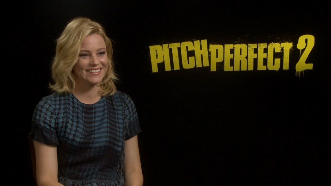 Elizabeth Banks Pitch Perfect 2 Interview